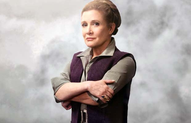 Carrie Fisher no aparecerá en 'Star Wars: Episodio IX'