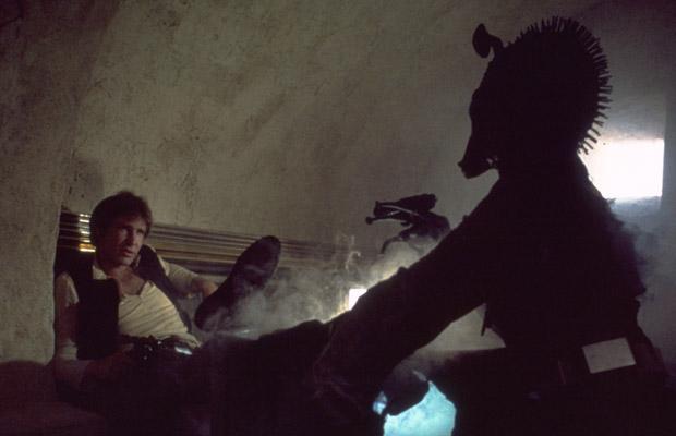 Han Solo disparó primero en STAR WARS IV