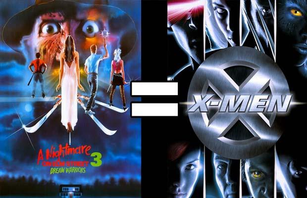 ¿Son 'Pesadilla en Elm Street 3' y 'X-Men' la misma película?