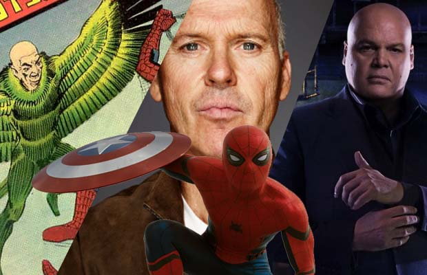 'Spider-Man: Homecoming': ¿Michael Keaton, Vulture, Kingpin?