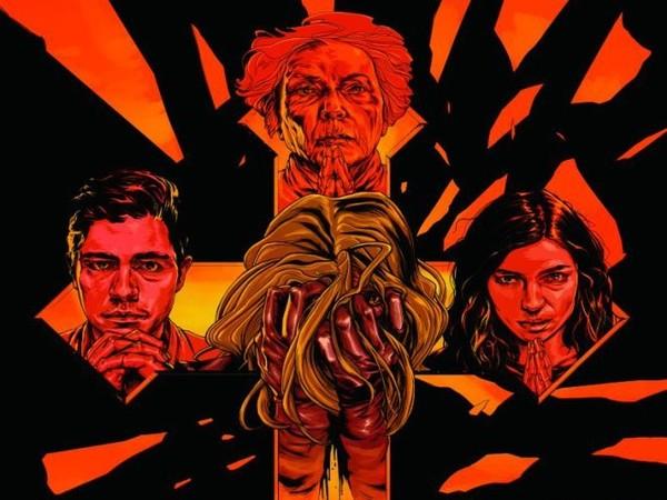 Posters de 'Trash Fire' y 'Abattoir'