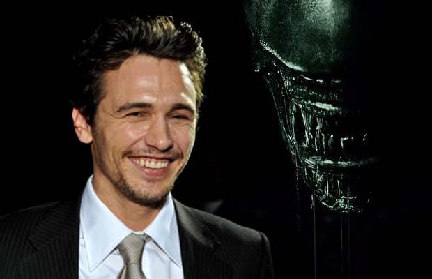 James Franco llega a 'Alien: Covenant'