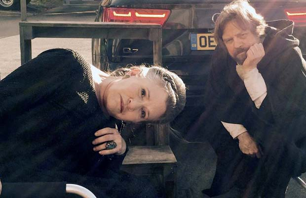 Carrie Fisher Star Wars VIII
