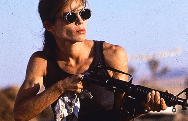 Linda Hamilton Terminator 6